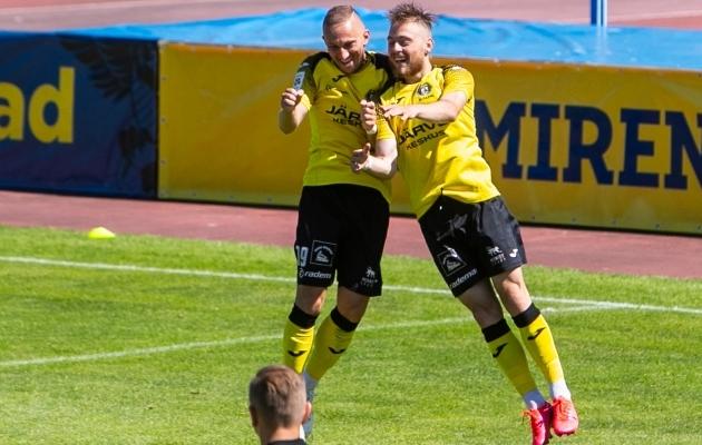 Pavel Marin ja Sander Kapper. Foto: Gertrud Alatare
