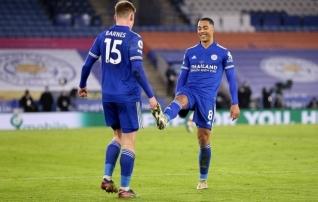Leicester peab Liverpooli ja Manchesteri hiidudega sammu