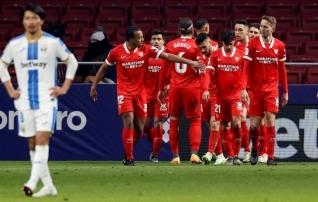 Kõrgliigaklubid pudenesid Hispaania karikasarjas konkurentsist  (Sevilla pääses ehmatusega)