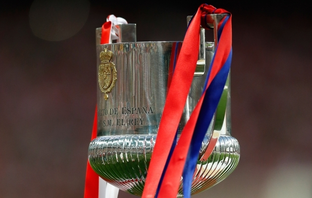 Copa del Rey karikas. Foto: Scanpix / AP Photo / Manu Fernandez