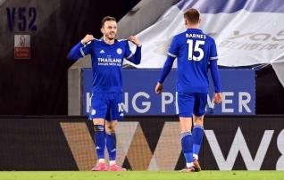 Leicester võitis Chelseat ja tõusis Inglismaal liidriks