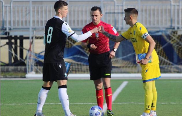 Tunjov (vasakul) kandis eile SPAL-i U19 meeskonna kaptenipaela. Foto: Georgi Tunjovi Instagram