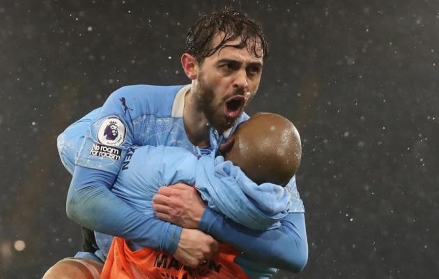 Kas Bernardo Silva lõi legaalse värava? Foto: Scanpix / Martin Rickett / Pool via Reuters