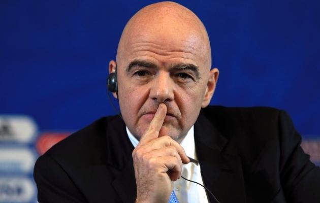 FIFA president Gianni Infantino. Foto: Scanpix / PA