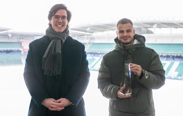 Fännide lemmiku auhinna vastu võtnud Sappinen: klubipoolne soov on, et teeksin järgmise sammu