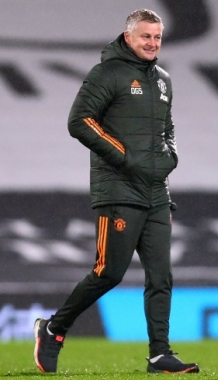 Manchester Unitedi peatreener Ole Gunnar Solskjaer. Foto: Scanpix / PA / Clive Rose