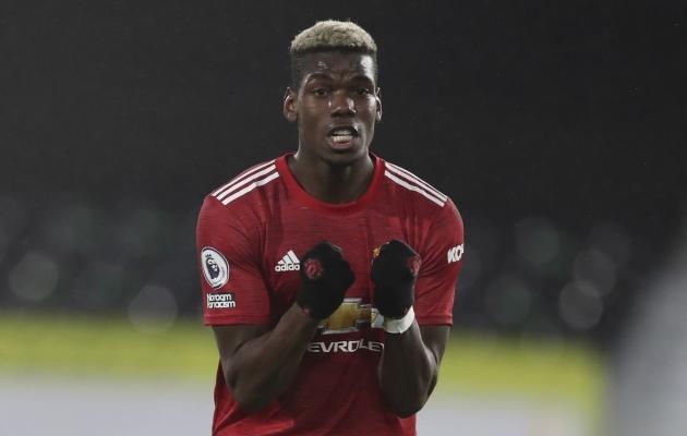 Manchester Unitedi poolkaitsja Paul Pogba. Foto: Scanpix / AP / Peter Cziborra