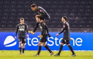 Mulluse saatuse eest põgenev Werder näitas Hertha vastu rammu