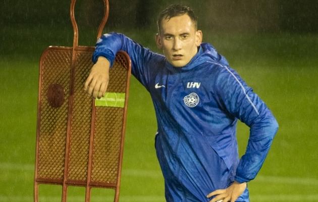 Vladislav Kreida. Foto: Liisi Troska / jalgpall.ee