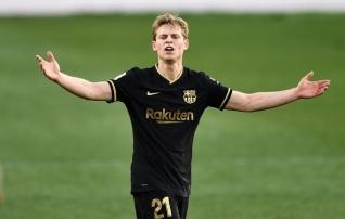 Pole Messit, pole probleemi: Barcelona kangelaseks kerkis de Jong