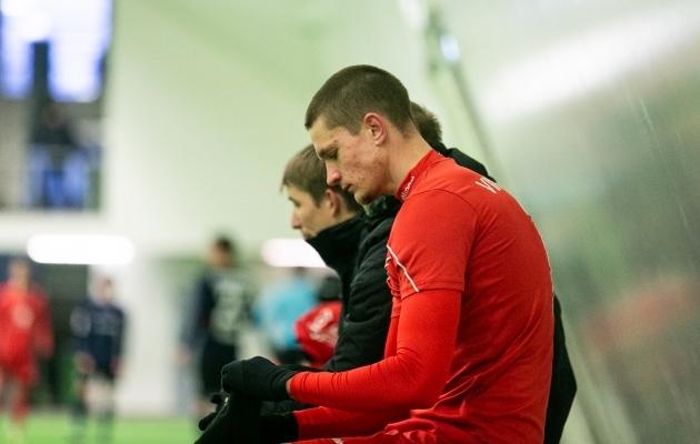Sigitas Olberkis on mänginud nii Leedu noortekoondises kui ka Iirimaal, Maltal, Valgevenes ja Lätis. Foto: Brit Maria Tael