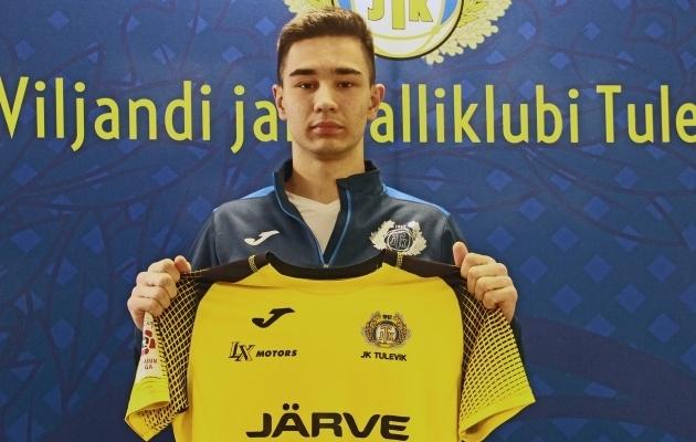 Daniel Tuhkanen. Foto: Viljandi JK Tulevik