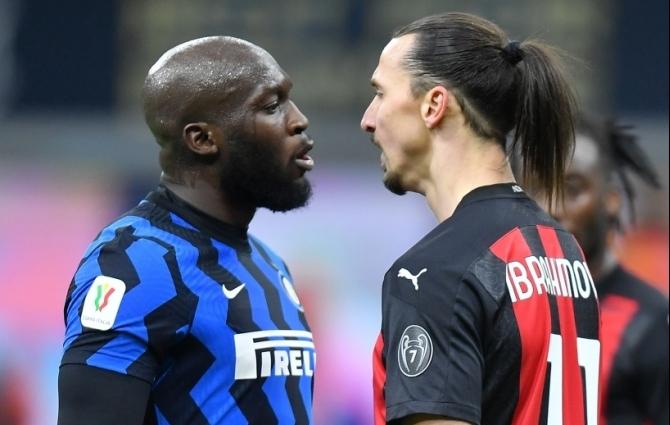 Milline derbi: Zlatan kakles Lukakuga, sai punase ning Inter võitis mahakantud mehe seitsmenda üleminuti väravast