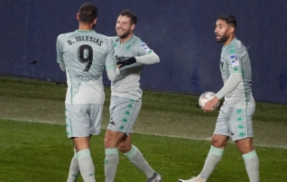 Betis alistas Sociedadi lisaajal, võitsid ka Levante ja Villarreal