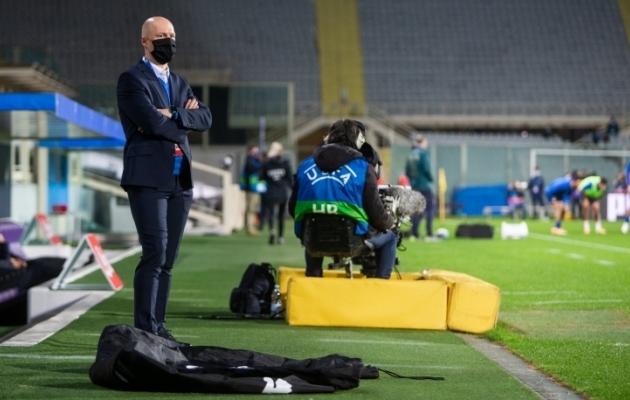 Karel Voolaid enne maavõistlust Itaaliaga novembris 2020. Foto: Jana Pipar / jalgpall.ee