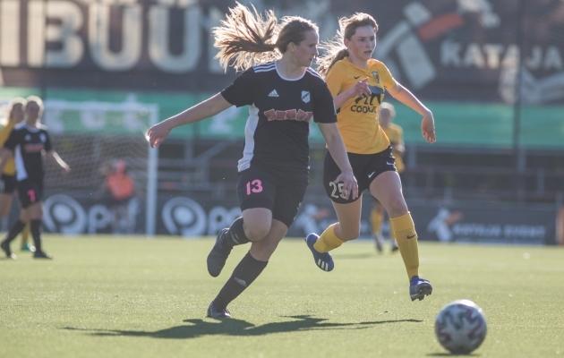 Heidi Melis. Foto: Jana Pipar / jalgpall.ee