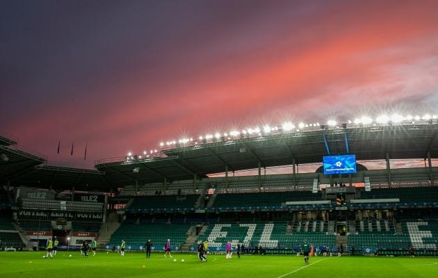 Eesti kodumängud MM-valiksarjas toimuvad hilisõhtuti. Foto: Brit Maria Tael