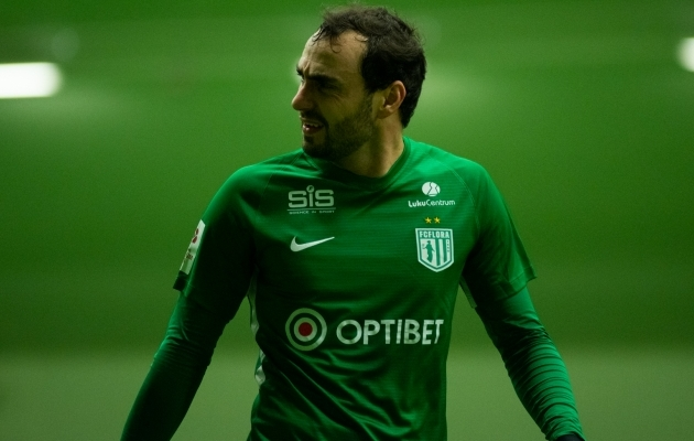 FC Flora ääreründaja Sergei Zenjov. Foto: Liisi Troska / jalgpall.ee