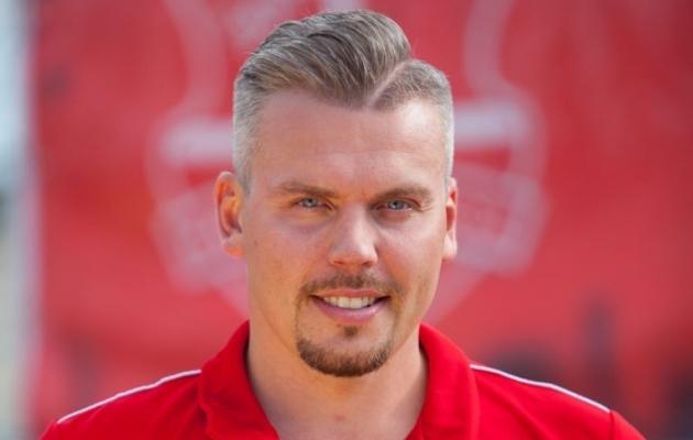 Harju JK tegevjuht Kalmar Liiv. Foto: harjujk.ee
