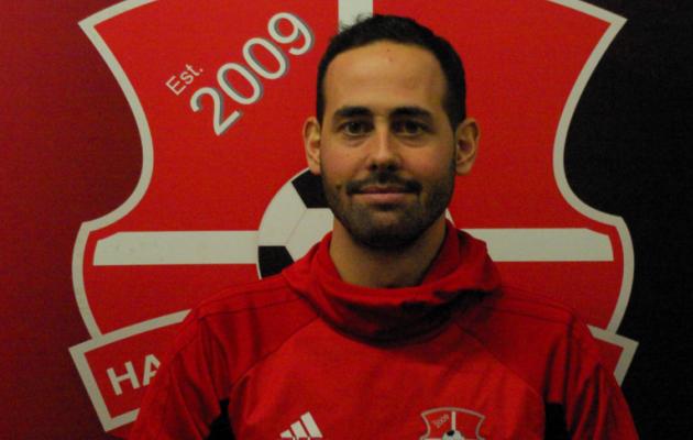 Harju JK Laagri portugallasest peatreener Victor Da Silva. Foto: harjujk.ee