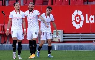 Meistrite liigas koost lagunenud Sevilla kaitse on koduliigas endiselt kivikõva