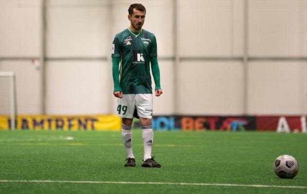 Zakaria Beglarišvili. Foto: Liisi Troska / jalgpall.ee