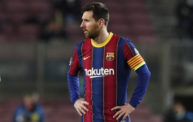 Lionel Messi. Foto: Scanpix / Reuters / Albert Gea