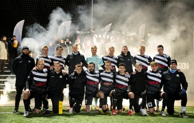 Tartu Welco eelmise hooaja lõpus. Foto: Liisi Troska / jalgpall.ee
