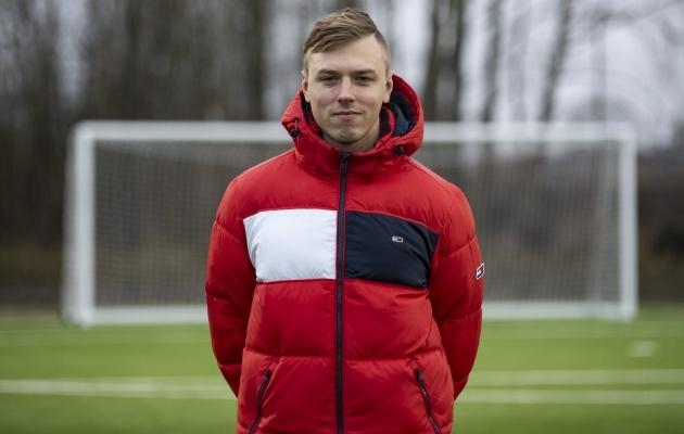 Edgar Leht. Foto: Liisi Troska / jalgpall.ee