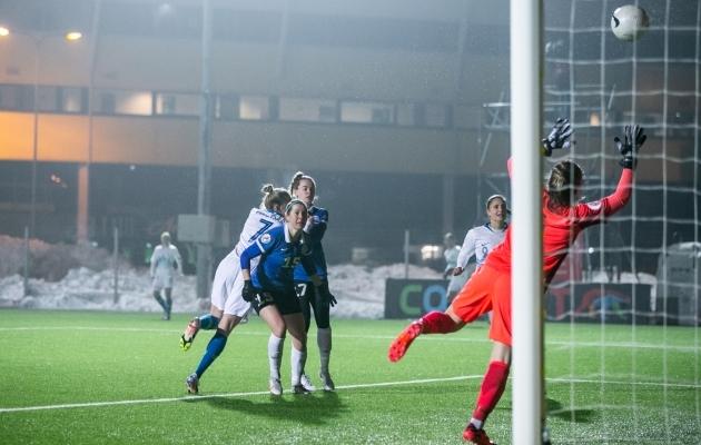 Alles tänavu veebruaris kohtus Eesti Sloveeniaga EM-valikmängus. Septembris avatakse omavahelise duelliga uus MM-valiksari. Foto: Brit Maria Tael