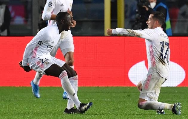 Ferland Mendy kerkis mõnevõrra ootamatult Real Madridi kangelaseks. Foto: Scanpix / AFP / Tiziana Fabi