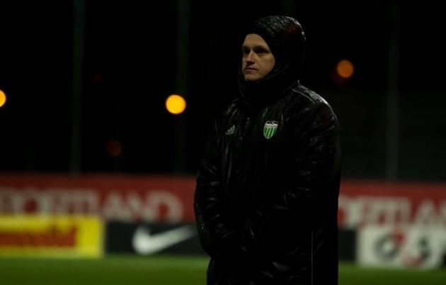 Tallinna FCI Levadia U21 peatreener Robert Sadovski. Foto: Raido Kull
