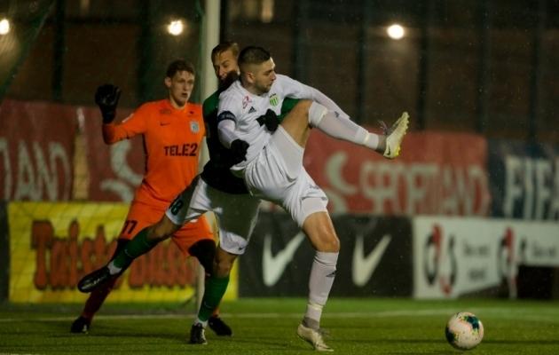 Kui palju mängib uuel hooajal Tallinna FCI Levadia U21 mängiv abitreener Igor Morozov? Foto: Raido Kull