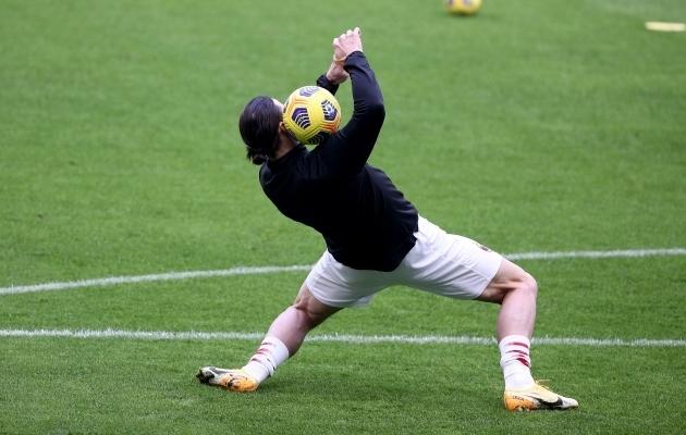 Zlatan Ibrahimovic ei ole sajaprotsendiliselt mänguks valmis. Foto: Scanpix / TRICARICO / IPA / SIPA