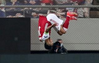 Kapten Aubameyang päästis viimasel hetkel Arsenali eurohooaja krahhist