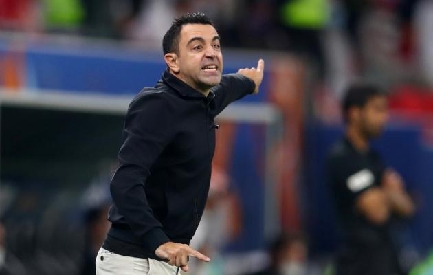 Xavi treenerikarjäär kulgeb tempokalt. Foto: Scanpix / Reuters / Ibraheem Al Omari