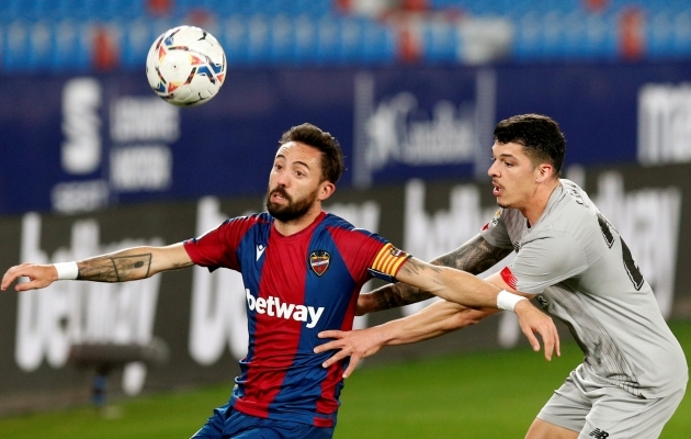 Athletic Bilbao ja Levante ei oska viigist enamat. Foto: Scanpix / EPA / Kai Försterling