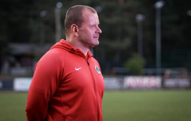 FC Elva peatreener Veiko Haan. Foto: Diana Jesin