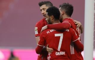 Bayern unustas koperdamised ja näitas taas võimu
