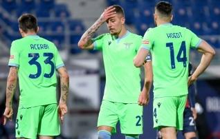 Enesekindluse kaotanud Lazio komistas ootamatult  (Cagliari ja Klavan said talutavaid uudiseid)