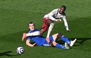 Arsenal kolkis Euroopa liigast välja langenud Leicesterit