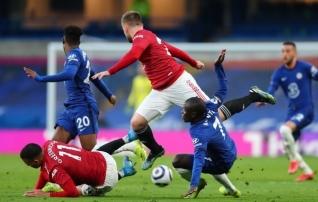 Chelsea ja United mängisid atraktiivset jalgpalli, aga tegid konkurentidele kingituse