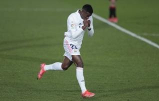 Vinicius päästis Realile lõpuminutite väravast punkti