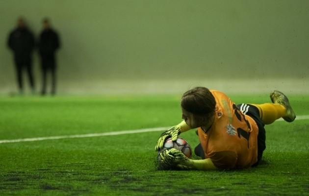 Karl Andre Vallner - Levadia esiväravavaht? Foto: Liisi Troska / jalgpall.ee