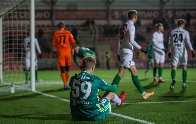 Levadia ei saanud eelmisel hooajal Florale vastu. Foto: Jana Pipar / jalgpall.ee
