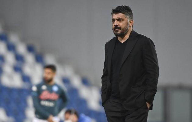 Napoli peatreener Gennaro Gattuso. Foto: Scanpix / Massimo Paolone / LaPresse / AP