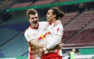 Leipzigi kindel mäng tõstis nad ajutiselt Bayernist mööda  (esinelikus koperdati!)