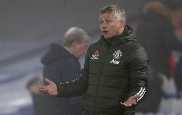 Manchester Unitedi peatreener Ole Gunnar Solskjaer. Foto: Scanpix / Adrian Dennis / Pool / Reuters