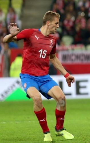 Tšehhi koondise üks staare, West Ham Unitedis mängiv poolkaitsja Tomas Soucek. Foto: Scanpix / imago / Michal Chwieduk