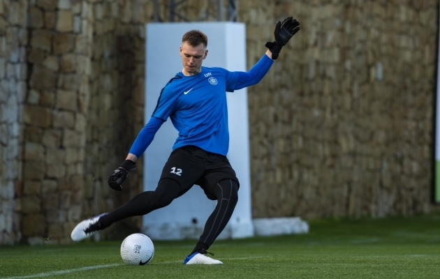 Karl Jakob Hein. Foto: Liisi Troska / jalgpall.ee